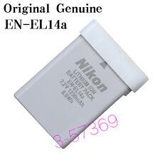 Genuine Original Nikon EN-EL14a ENEL14A Battery For DF D5300 D5200 D5100 D3300