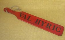 BYU VAL HYRIC | *RARE 😲* Brigham Young University Social Club/Fraternity Paddle