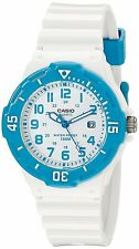 Casio LRW200H-2B Ladies 100M Divers Sports Watch Analog 100M Rotary Bezel Blue