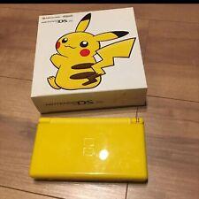Nintendo DS Lite Pikachu Edición Consola Only Pokemon Centro Limitado con Caja