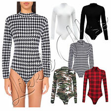 Checked Long Sleeve Body Unbranded Women's