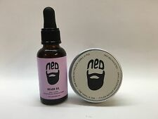 NED Beard Lavender Oil 30ml and Vanilla Beard Wax 40ml Duo Pack!!!!