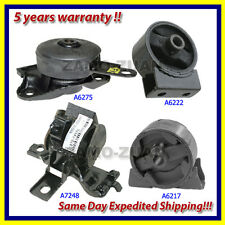 89-92 Toyota Camry 2.0L 2WD Engine Motor & Trans. Mount Set 4PCS For Auto Trans.