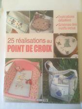 25 REALISATIONS AU POINT DE CROIX  ( EDITION ESI )