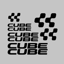 12x cubo Mountain / strada BICICLETTA / Ciclismo / CICLO / BICICLETTA TELAIO Adesivi Decalcomanie KIT