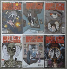 DEAD BOY DETECTIVES #1-6 SET..TOBY LITT..MARK BUCKINGHAM..VERTIGO 1ST PRINT..NM