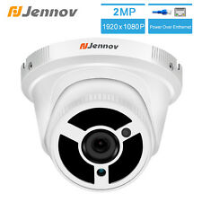 PoE IP Camera Home Security Outdoor Indoor 1080P Night Vision Dome Audio ONVIF
