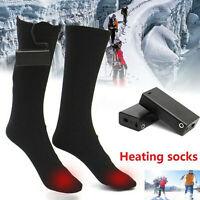 Scaldapiedi invernali per riscaldamento a calzini lunghi riscaldati a batteria