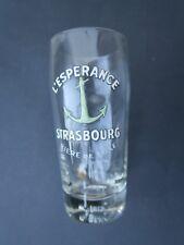 Verre à bière émaillé L'ESPERANCE STRASBOURG