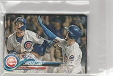 -CHICAGO CUBS 2018 TOPPS SERIES 2 TEAM SET