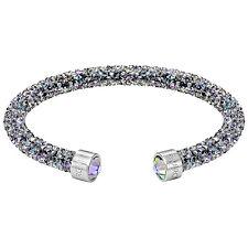 Swarovski Crystaldust Purple Multi 5273639 Single Bangle Size M Rrp$99
