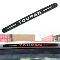 Adesivo sticker fibra carbonio terzo stop auto Volkswagen Touran car styling