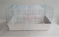 Rabbit Cage Indoor 80cm Guinea Pig Ferret Small Animals Rat Grey Chinchilla