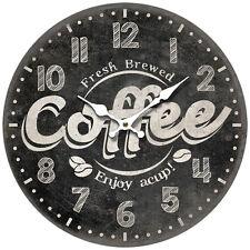 Wanduhr Uhr Quarzuhr Vintage Küchenuhr Retro antike Design 34 cm