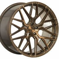 "4 New 20"" ROHANA RFX10 20x9 20x12 BRONZE CONCAVE WHEELS FORGED RIMS (A2)"