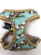 iPuppyOne - Dog Puppy Soft Harness - Dreamy Flex - Blue - Small XS, S