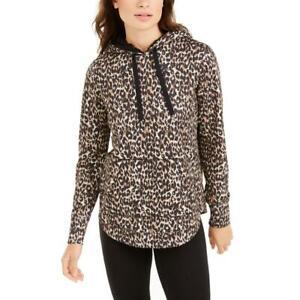 Ideology Womens Cozy Comfy Comfortable Hoodie Loungewear BHFO 9121