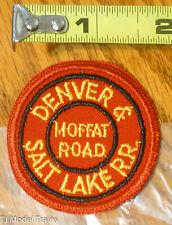 Patch #192 Denver & Salt Lake RR / Moffat Road  ( Railroad Patch )