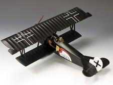 King & Country Soldiers FW112 WWI Fokker DVII Leut Josef Jacobs Jasta 7