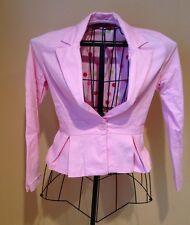Necessary Objects Women's Blazer Pink Size M