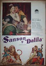 SAMSON AND DELILAH, Hedy Lamarr, Victor Mature, 1949 Pressbook 390