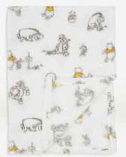 Disney Asda Winnie The Pooh Throw Fleece Baby Blanket