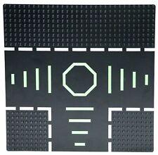 "LEGO 608p02 Lunar Landing Plate 32x32 (10""x10"") Blacktron Space 6710"