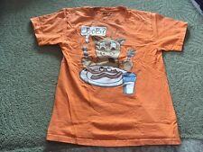 Hybrid Tees Boy's Bob? Orange T-Shirt Size Large