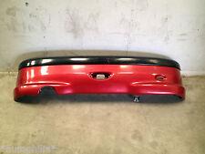 PEUGEOT 206 GTI 2000 3 DOOR REAR BUMPER BARE IN RED