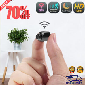 Mini spy Camera WiFi Video and Audio Recorder IP Cam Smart Home Night Vision
