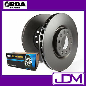 NISSAN XTRAIL T31 SERIES 11 - RDA Front Brake Discs & EXTREME Pads