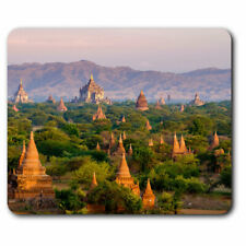 Computer Mouse Mat - Temples Bagan Myanmar Burma Office Gift #3529