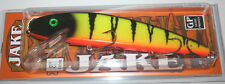 "8"" Jake Musky Mania Muskie Pike Crankbait Glitter Perch J8-16 Drifter Tackle"