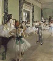 Edgar Degas The Ballet Class Giclee Art Paper Print Poster Reproduction
