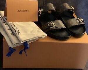 Louis Vuitton Bom Dia Flat Mule                       Size 38/ US 8