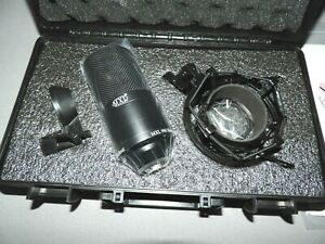 MXL 990 Blackout, Condenser Microphone, Limited Edition