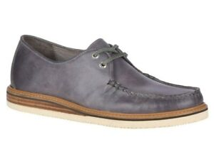 Sperry Gold Cup Cheshire Oxford Shoes Men's Leather Moccasin Dolphin Size 9.5