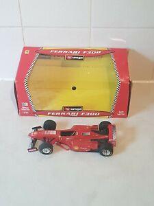 Burago Ferrari F300 1998 Model Racing Car   along with Original Box