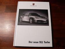 Der neue 911 Turbo - Porsche Prospektbuch vom 996 Stand 2000, Datenheft 2001