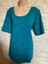 stretch teal top size 20