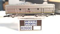 Marklin Z Mini Club 82600 EMD F7 B-Unit ATSF Loco Blue Warbonnet Non-Powered