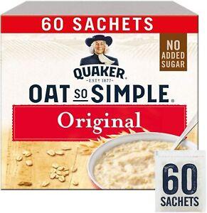 Quaker Oats So Simple Original (60 Sachets)