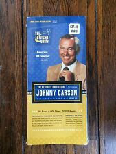 Johnny Carson: The Ultimate Collection (DVD, 2003, 3-Disc Set) SEALED LONG BOX