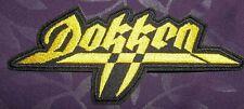 Dokken Patch Logo 80'S Don Dokken Heavy Metal Glam Rock George Lynch Sew/ Iron