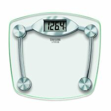 Taylor Glass and Chrome Digital Bathroom Scale, 400 Lb. Capacity