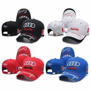 Audi Power Baseball Cap Embroidery Hat Sport Motorsport Racing Brand New