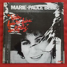 MARIE PAULE BELLE  LP ORIG FR PARIS FAIS TOI FAIRE UN LIFTING MINT