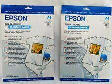 Epson Cool Peel T-Shirt - Iron-on transfers - A4 (210 x 297 mm) - 10 pcs.