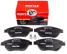 MINTEX FRONT AXLE BRAKE PADS FIAT LANCIA PEUGEOT MDB2663 (REAL IMAGE OF PART)