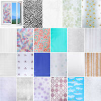 PVC Frosted Glass Window Privacy Self Adhesive Film Sticker for Bedroom Bathroom